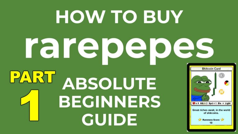 rarepepes beginners guide