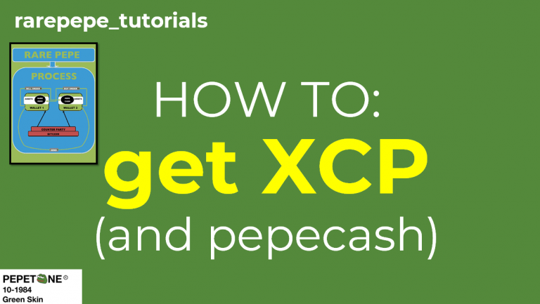xcp and pepecash dispensers